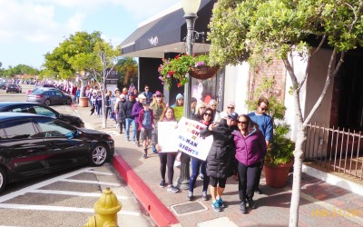 Women's March San Clemente January 21, 2017